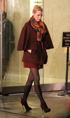 blakelively in brown tons