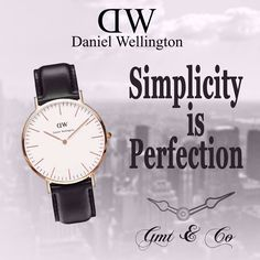 Go for #DW Your decision for perfection, Available exclusively at #GMTandCo. Pay via #Visa and #MasterCard