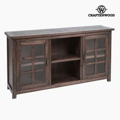 €Sideboard doors) Mindi wood x 40 x 86 cm) by Craftenwood Sideboard Cabinet, China Cabinet, Color Nogal, Buffet, Hallway Furniture, Cupboard, Beautiful Homes, Brick, Doors