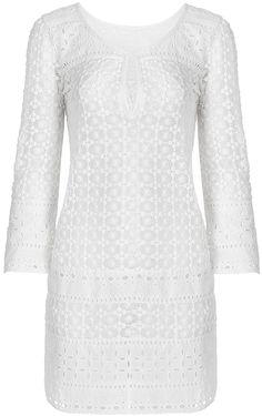 Montauk Cotton Lace Coverup Dress Cotton Lace, Diane Von Furstenberg, Cover Up, Slip On, Stylish, Sweaters, Tops, Dresses, Women