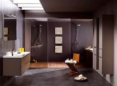 Small Bathroom Interior Design bathroom design interior design ideas decorating before and after designs Small Bathroom Interior, Bathroom Styling, Bathroom Ideas, Bathroom Modern, Brown Bathroom, Bathroom Purple, Cozy Bathroom, Modern Sink, Bathroom Windows