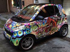 Car Wrapping Roma - Decorazione Automezzi Adesivi Auto Personalizzazione Furgoni