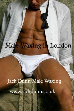 Male waxing fetish