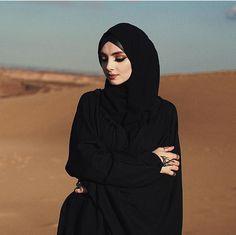 Beautiful muslim girl @salixat_kasumova # başörtü kapalı siyah abaya çarşaf ddi