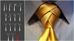 9 Ways to Transform a Tie into a Stunning Knot! | Diply