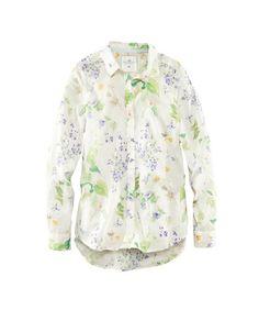 Floral Button-Down, H