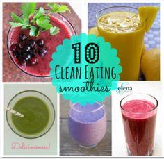 CLean Eating smoothies, vegan, detox, raw , drink