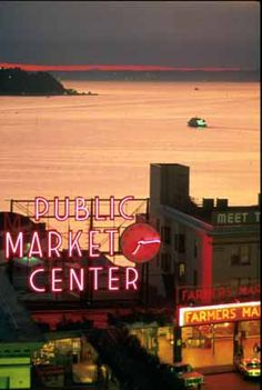Public Market Seattle---Little surreal.  I actually spent today walking Pike Place Market.  Thought about walking around biting my lip and riding in elevators looking for CEO Christian Grey....but I thought my husband would probably have me committed.  LOL!  ;)  - Steph B.