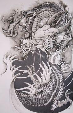 Dragon Japanese Art