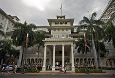 The Moana Surfrider hotel, the 'Queen of Waikiki,' turns 100.