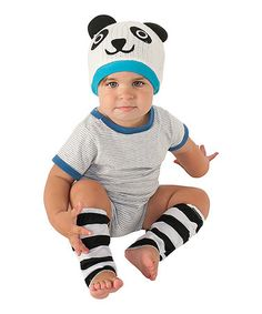 Loving this Panda Dress-Up Set - Infant on #zulily! #zulilyfinds