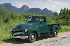 I Love old chevy trucks