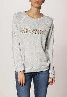 682b946383c Gant Rugger GIRLSTOWN Sweatshirt light grey melange Rea från Zalando.se!    Material: