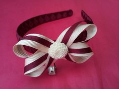 Layered boutique bow alice band ♥