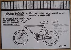 Jízdní kolo - pracovní list (tematický týden Cyklistou bezpečně)