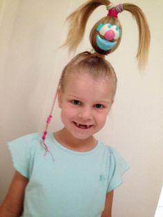 Giggleberry Creations!: Crazy Hair Day - Mr Potato Head!!