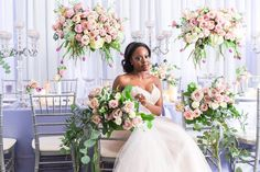 "A Stunning ""Blooming Romance"" Styled Shoot"