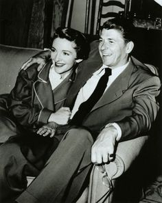 Nancy and Ronald Reagan - They met in Hollywood.  She was an actress and he was the President of the Screen Actors Guild. (He called her his sidekick)