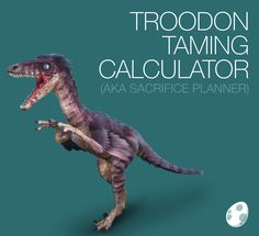 Tusoteuthis taming calculator ark survival evolved ark survival troodon taming calculator for ark survival evolved including taming times food requirements kibble recipes saddle ingredients forumfinder Image collections