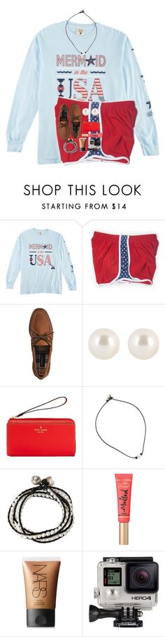 """Set for madi!"" by cora-g77 ❤ liked on Polyvore featuring CO, Sperry, Henri Bendel, Kate Spade, NOVICA, Too Faced Cosmetics, NARS Cosmetics and GoPro"