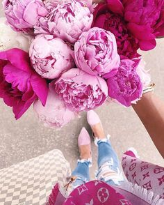 louis vuitton handbags buy now pay later The Sweetest Thing Blog, Peonies Season, Rosa Pink, Chanel Sunglasses, Sunnies, Pink Scarves, Foto Art, Pink Peonies, Peonies Bouquet