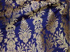 Floralitalian Pure Silk non Sheer Dress Fabric