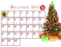 Holiday Countdown Calendar - Loopy Apple Advent Calendar. Open one box a day until Christmas.