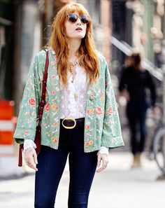 """make-me-your-maria: """" """" Florence Welch in New York """" """""""