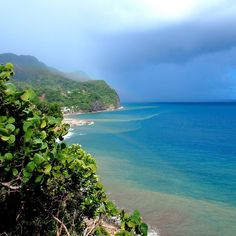 The rain may roll in but the beauty always remains in Dominica.. #ucdominicawk #instaweather #caribbean #islandlife