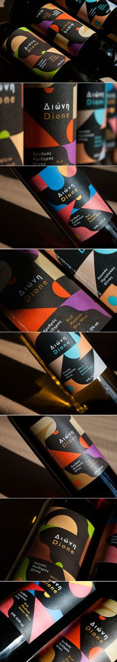 Take a Look at This Unique Take on Wine Labels — The Dieline | Packaging & Branding Design & Innovation News