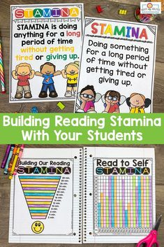 This Reading Stamina set will help build stamina with students. You will receive 32 pages of anchor charts, posters, and graphing sheets to help your kids build stamina while having fun! This product is perfect for the and grade classroom. What Is Reading, Reading Goals, Guided Reading, Stamina Anchor Chart, Anchor Charts, Building Reading Stamina, Read To Self, 5th Grade Classroom, Charts And Graphs