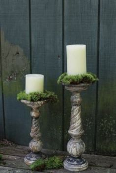 Give your pillar candles a unique presentation with our Rustic Turned Wood Pillar Candle Holders. Visit Antique Farmhouse for more candle holders and candle stands! Floor Candle Holders Tall, Rustic Candle Holders, Candle Holder Decor, Candle Stands, Large Candles, Best Candles, Pillar Candles, Painted Fox Home, Antique Farmhouse