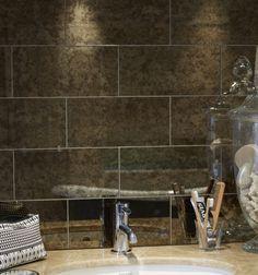 Rococo Decorative Wall Tile Kennet 40Cm Gloss Brick Tiles  6 Colours  Ca 'pietra  Bathroom