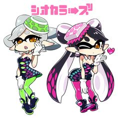Marie & Callie | Splatoon