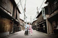 © Eyeshot Studio Photography. Pre-wedding photos at Gion District, Kyoto