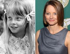 Child Stars Who Are Not Kids Anymore: See Them Then and Now - Jodie Foster: 1973... and now.