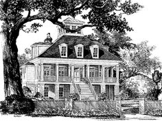 Eplans Low Country House Plan - Charles Towne Place from The Southern Living