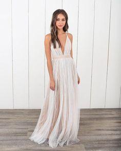 PREORDER - Karmen Maxi Dress - White