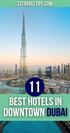 Finding lodging in Dubai isn't hard. But identifying the best accommodations is tough. This list of the 11 best hotels in Downtown Dubai will help you choose.   Best Hotels in Downtown Dubai   #downtowndubai #dubai #dubaitravel Travel Info, Travel Tips, Travel Plan, Travel Ideas, Wanderlust Travel, Asia Travel, Dubai Travel, Cool Places To Visit, Places To Travel