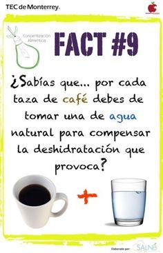 cafe y agua