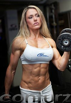 IFBB Figure Pro Louise Rogers #fitness