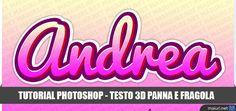 Oggi vedremo un tutorial abbastanza semplice per realizzare con photoshop una scritta 3D dalla colorazione che ricorda i...