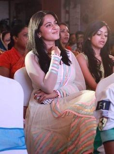 Anushka Shetty at Saivam Audio Launch