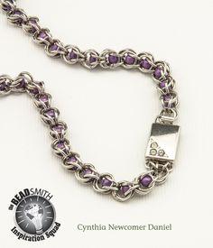 Cynthia Newcomer Daniel-USA  Matubo 7/0 Round Beads, Chainmail