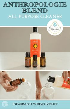 Anthropologie Blend: 3 drops of doTERRA grapefruit, 2 drops of doTERRRA Douglas Fir and 2 drops of Citrus Bliss. +On Guard Cleaner Citrus Essential Oil, Essential Oils Cleaning, Citrus Oil, Essential Oil Blends, Natural Cleaning Recipes, Natural Cleaning Products, Doterra Grapefruit, Esential Oils, Diffuser Recipes