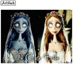 Fan Art of Emily The Bride for fans of Emily,the corpse bride. This is emily and well you know where shes from.not sure if this is positively disney but. Corpse Bride Emily Alive, Corpse Bride Art, Tim Burton Corpse Bride, Tim Burton Style, Tim Burton Art, Princesas Disney Zombie, Tim Burton Characters, Kawaii 365, Fan Art