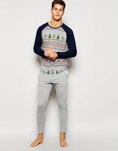 ASOS+Loungewear+Set+With+Christmas+Fair+Isle+Print