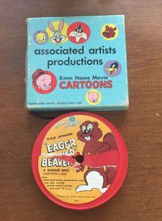Vintage Merrie Melodies Eager Beaver 8mm Cartoon  | eBay
