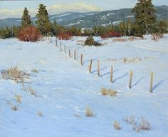 Snow Day! Tips for Plein Air Painting in the Snow | Kathleen Dunphy - Blog