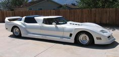 Limo Corvette for the ride to the hot spots for our Dream Date Night With Denizen